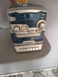 Vendo microsom toca cd rádio e fita funcionando perfeitamente por R$ 60 reais