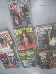 Coleção revistas de guitarra