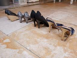 Kit 4 sapatos femininos Super conservados