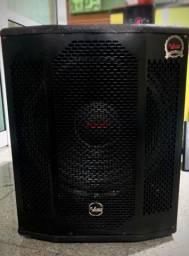 Caixa sub subwoofer ativo Leacs Invoked SLI15 650w