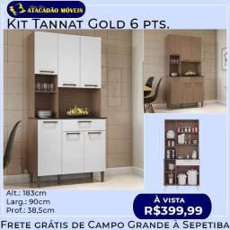 Kit tannat gold 6pts / Novo direto de fábrica