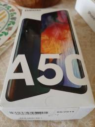 Caixa de celular A50