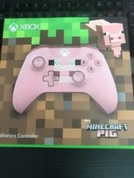 Controle Xbox One Xone Minecraft Pig porco