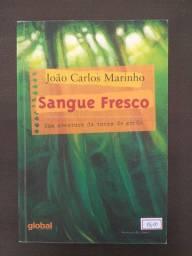 Livro Sangue Freco, Joao Carlos Marinho