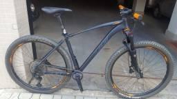 Bike Aro 29 Mtb Oggi 7.4 Shimano Slx M7100 12v Suspensão Manitou Ar e Óleo Trava no Guidom