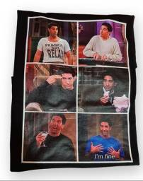 Camiseta Ross Friends G preta