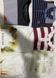 Lindas camisas de Marca tamanho GG