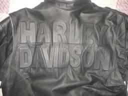Casaco de couro Harley Davidson