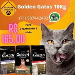 Ração Golden para gatos