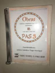 Apostila de obras PAS 3 UnB 2018
