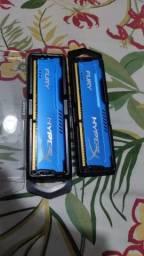 Memória HyperX Fury 8GB 1866MHz DDR3