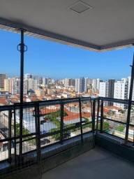 Apartameto na Ponta Verde, 3 quartos sendo suite.
