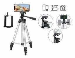 Tripé p/celular/Ring light/câmeras.$90