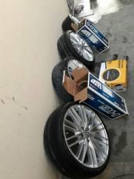 Peças para carros aro 17 pneu perfil baixo