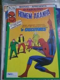 Homem Aranha - Marvel - N°5 - Revista Importada de Portugal - anos 80