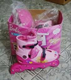Patins Barbie