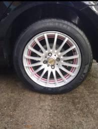 Rodas 15 pneus 195/55