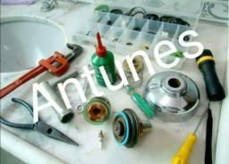 Manutenção em válvulas de descarga e caixa acoplada