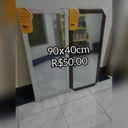 Espelho médio 90x40cm