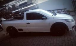 Vw - Volkswagen Saveiro FLEX - Com Kit GNV ( Gás Natural ) - 2012