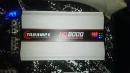 Amplificador taramps hd 8000 1 ohms