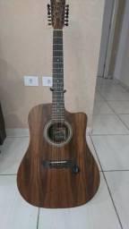 Violão Rozini 12 Cordas Rx 415 Folk Presença Brasil