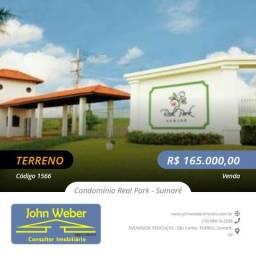 Terreno Condomínio Real Park - Sumaré
