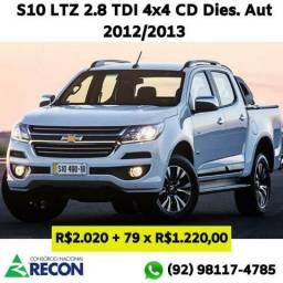 S10 Pick-Up LTZ 2.8 TDI 4x4 CD Dies.Aut 12/13 - 2012