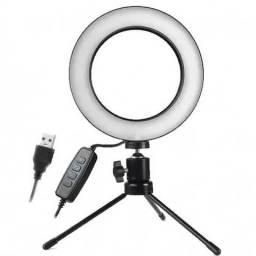 Iluminador ring light / para gravações fotos e produção