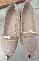 Sapato e corrente