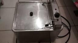 Fritadeira elétrica água e óleo, muito barata