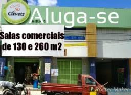 FZ043 - Sala comercial em Mares 260 m² ou 130 m²