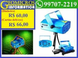 Mini Projetor Holográfico Laser Iluminação Festa (Loja Geomicros)