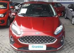 New Fiesta Sel 1.6 Automático Completo 2018. KM: 4.100 - 2017