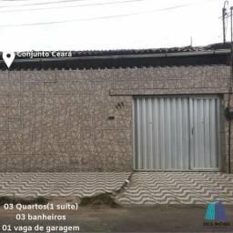 Alugo ótima casa no bairro Conjunto Ceará