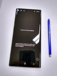 Samsung Galaxy Note 10+ 256GB+ Smartwatch Active + Carregador Sem fio