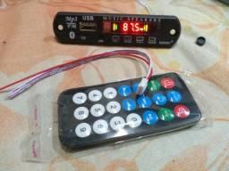 Decodificador de áudio USB, bluetooth, ( leia todo anuncio)