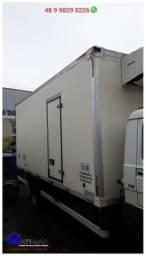 Baús frigoríficos caminhão 3/4 seminovos Mathias Implementos