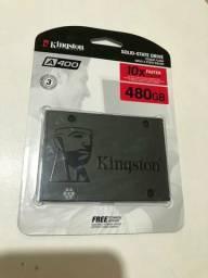 Ssd 480 gb Kingston lacrado