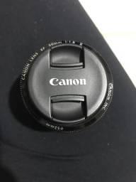 Lente canon 50mm 1.8 ii