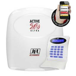 Central de Alarme Monitoravel Active 20 Ultra JFL com teclado 3x de R$ 164,97