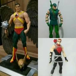 Bonecos Marvel e DC, Liga da Justiça e Vingadores