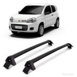 Rack bagageiro aluminio Fiat Uno vivace