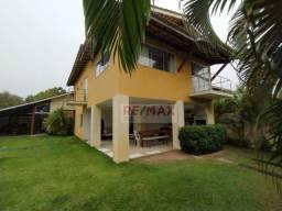 Casa no Cond. Vilas do Jacuipe - 4 dormitórios sendo 2 suítes ,240 m² por R$ 730.000 - Bar