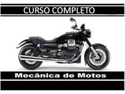 Curso online de Mecânico de Moto completo