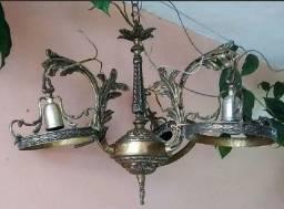 Lustre bronze antigo
