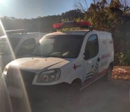 W) P67599 Especial Ambulância Fiat Doblô Rontan Amb