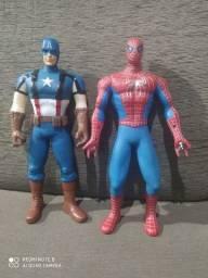 Capitão América e Homem Aranha