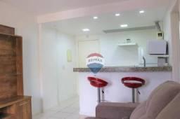 Apartamento com 1 dormitório para alugar, 42 m² por R$ 1.200,00/mês - Barra da Tijuca - Ri