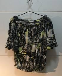 Blusa de malha Hering - De ombro exposto, com elástico